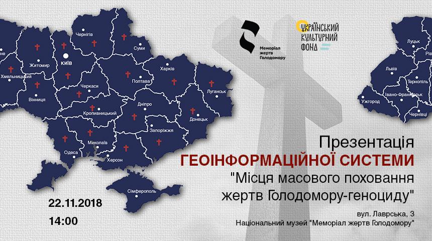 карта України на постері