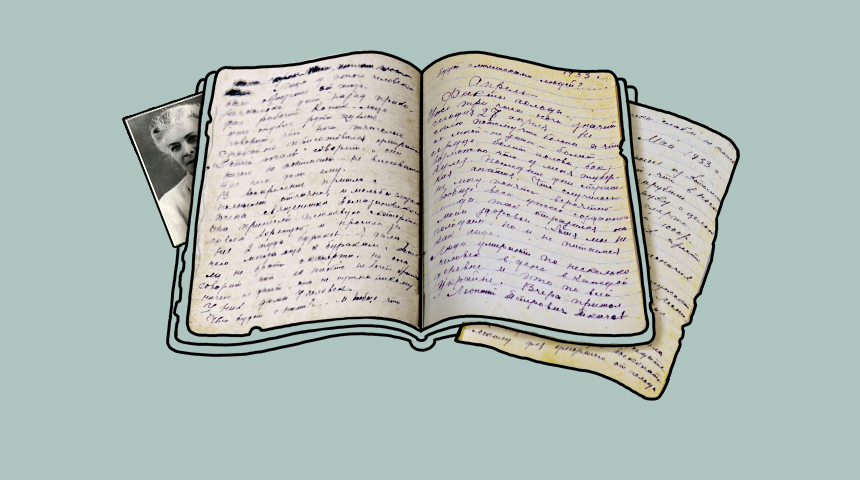 Hand-written diary