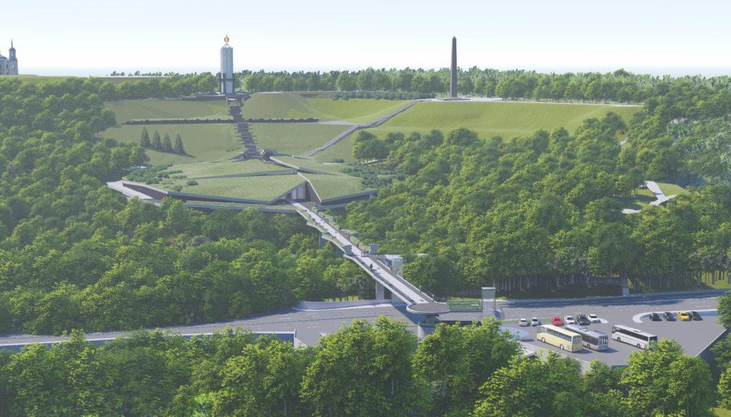 Візуальне зображення проекту майбутнього музею