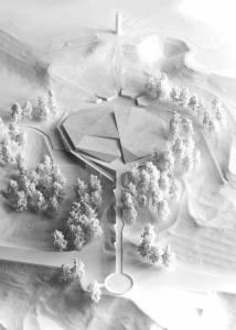 Проект музею зверху в зимову пору