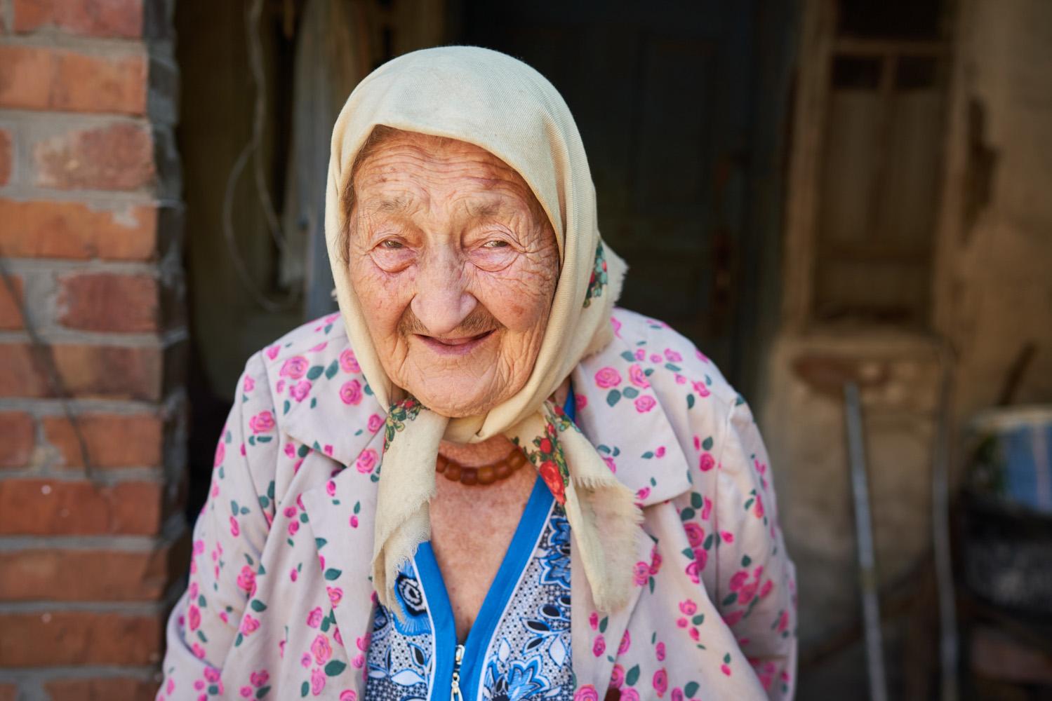 Holodomor eyewitness Marfa Kovalenko