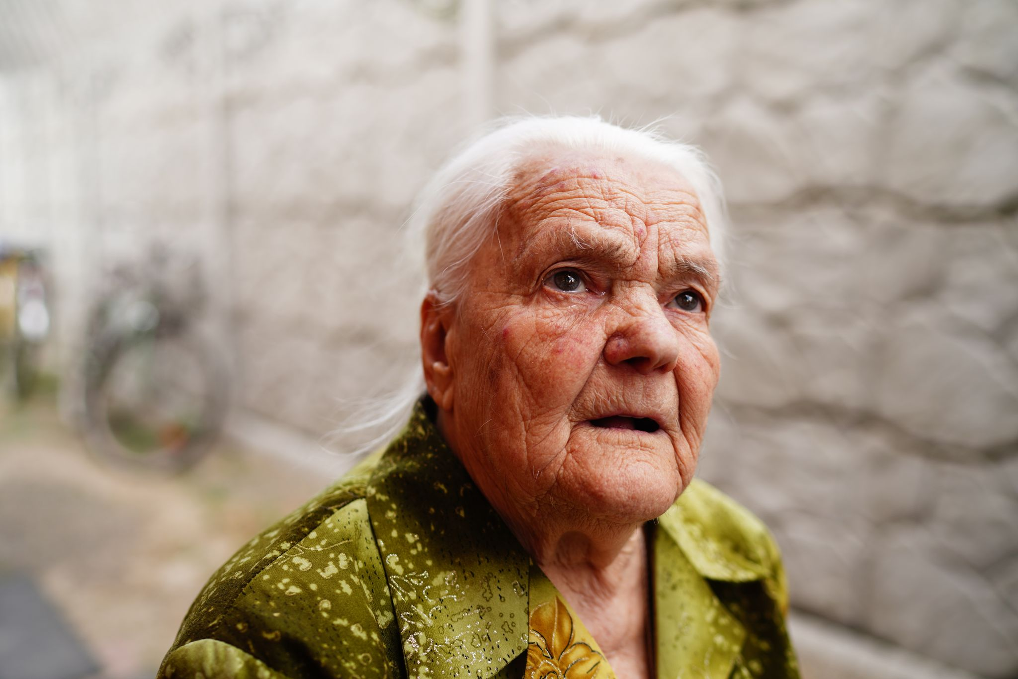 На фото: свідок Голодомору Надія Корольова