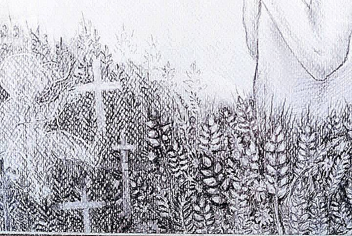 Дитячий малюнок про Голодомор