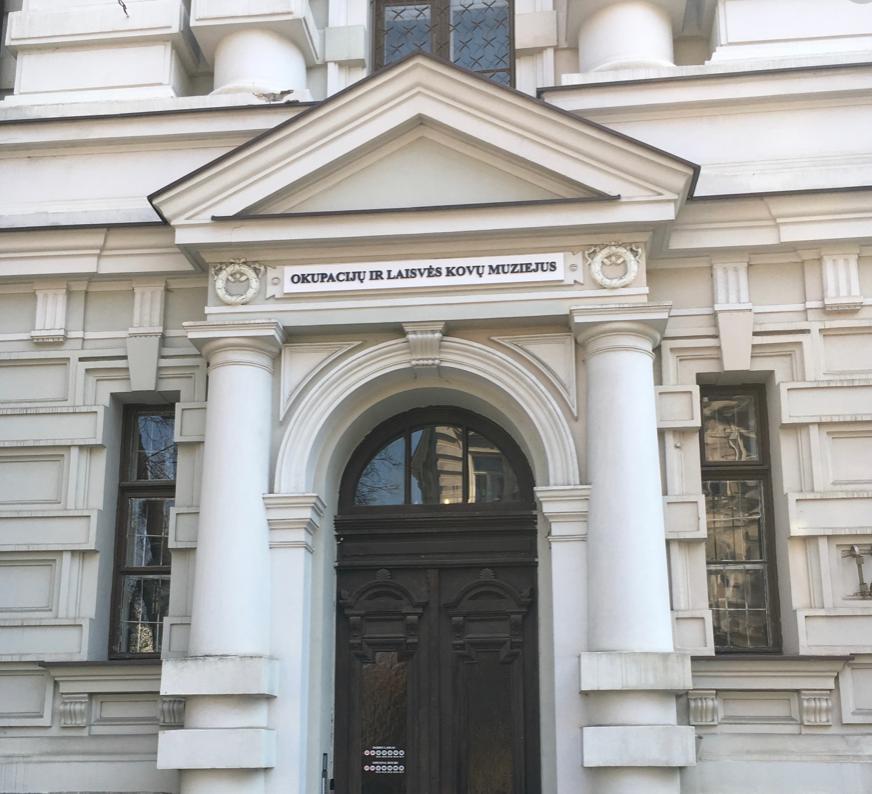 Музей окупації та боротьби за свободу (Литва) – Okupacijų ir laisvės kovų muziejus